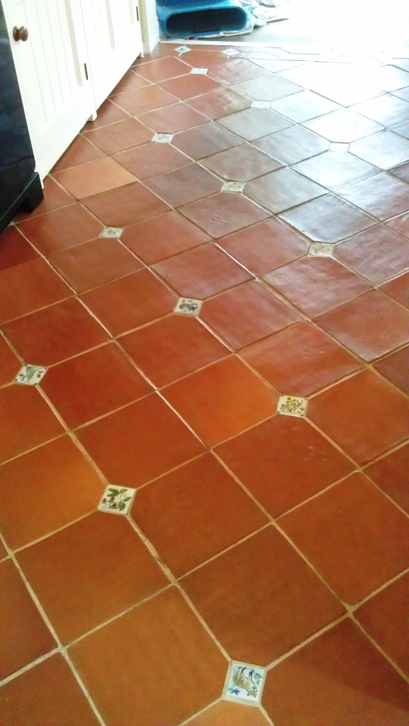 Cleaning Terracotta Floor Tiles Near Boston - Lincolnshire ...