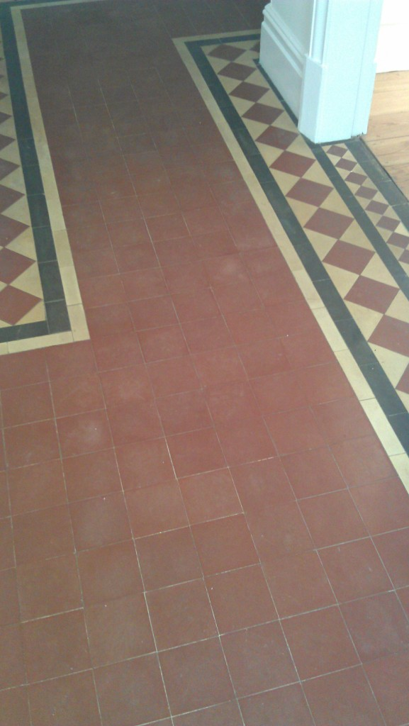 Victorian Floor Before Cleaning