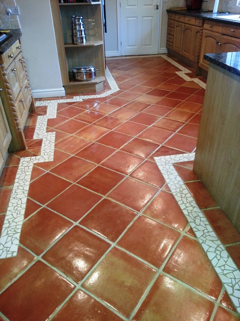 Terracotta Horncastle After Sealing