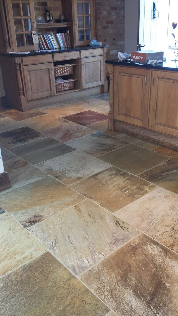 Natural Stone Floor in Boston Resealed