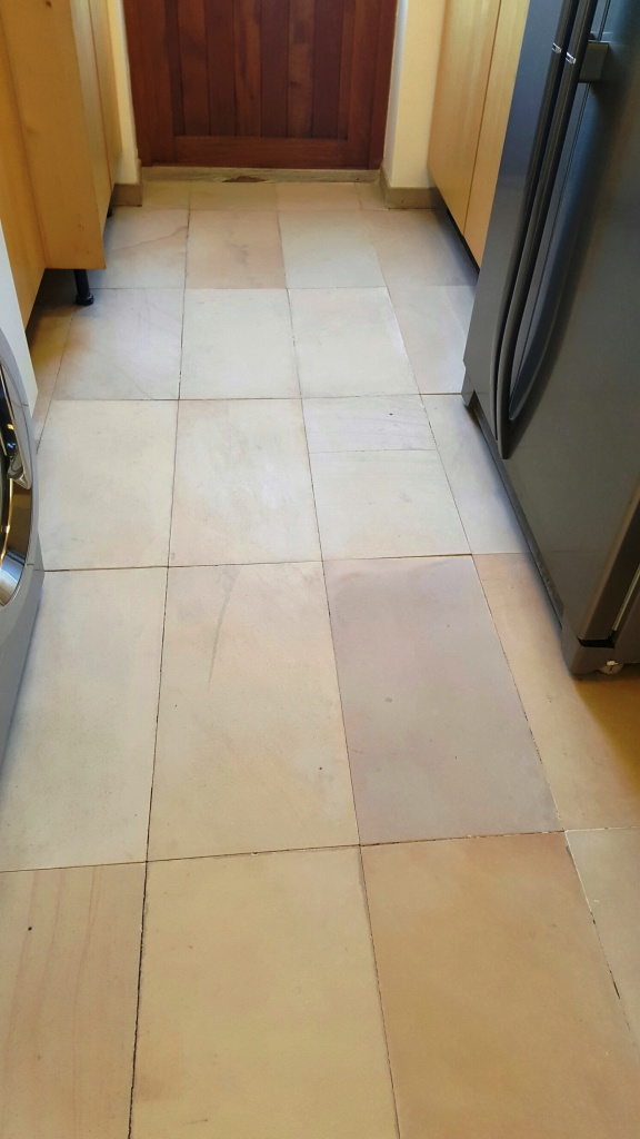 Sandstone Floor After Cleaning Sleaford