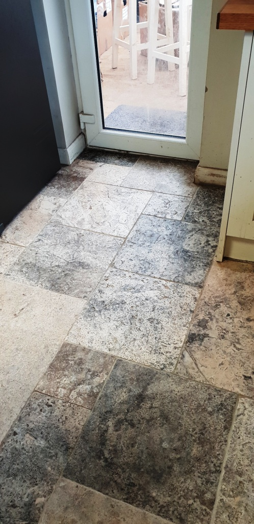 Travertine Floor Coningsby After Cleaning