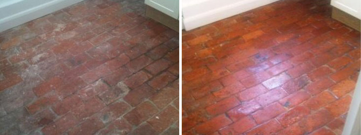 Brick Paviours Before and After